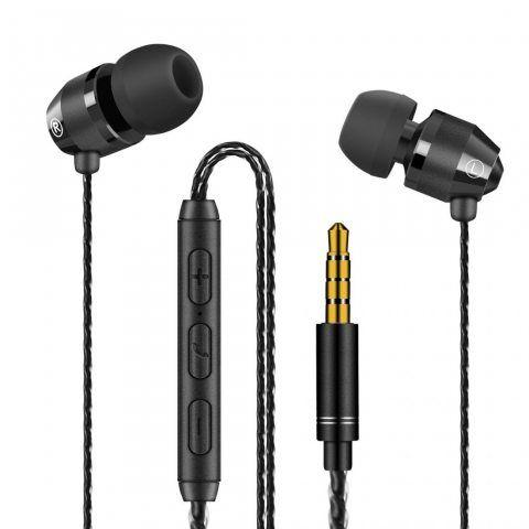 Modohe Ecouteurs intra-auriculaire - Écouteurs Filaire Stéréo Anti-bruit Jack 3.5mm avec Microphone intégré compatible avec A