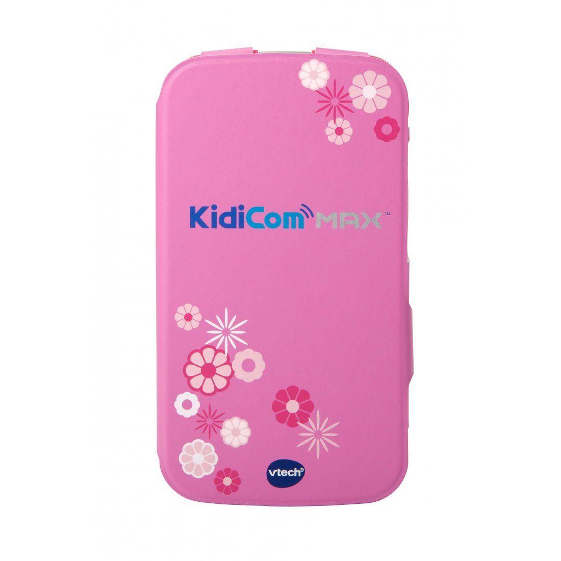 VTech - 401659 - Kidicom Max - Etui de Protection - Rose