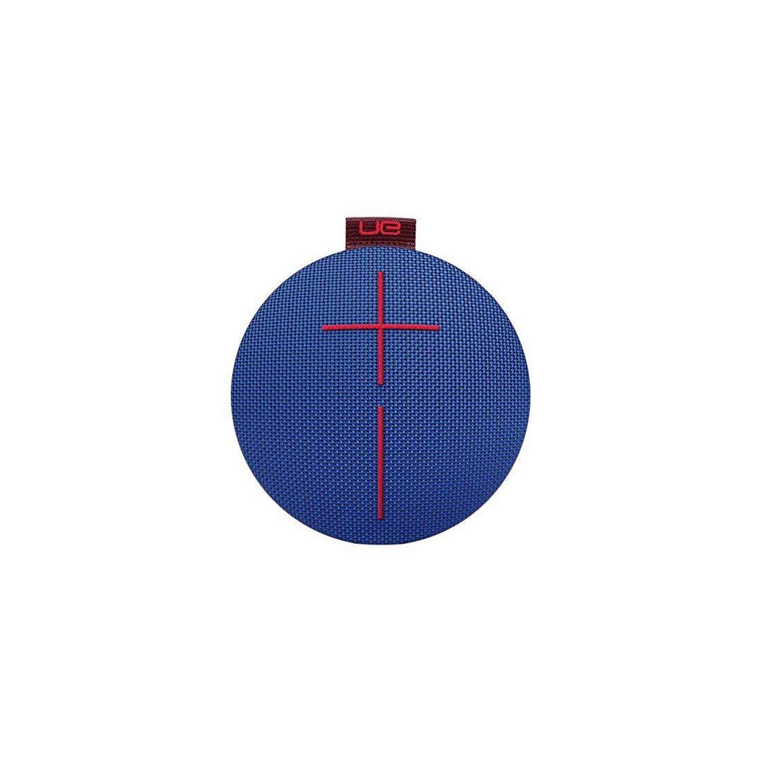 Ultimate EarsROLL2 Enceinte Bluetooth Ultraportable avec Flotteur, Waterproof et Antichoc - Bleu/Rouge