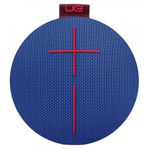Ultimate Ears ROLL 2 Enceinte Bluetooth Ultraportable avec Flotteur, Waterproof et Antichoc - Bleu/Rouge