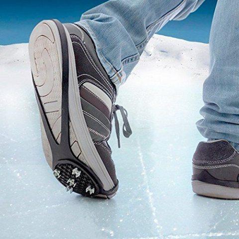 Crampon pour chaussure anti glisse sur neige et verglas - crampon glace