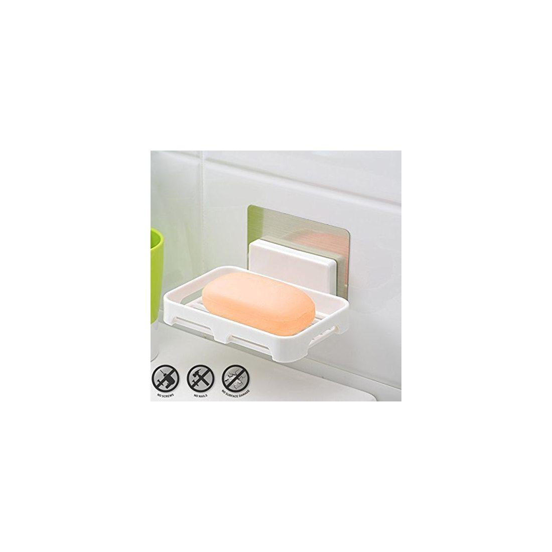 Facile fixer kurelle porte savon salle de bain support - Porte savon salle de bain ...