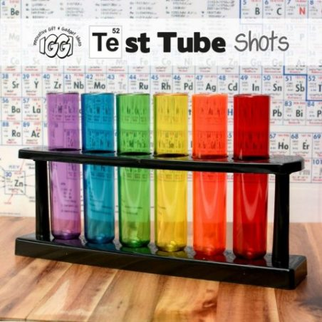 Gift house international iggi - shooters tubes à essai
