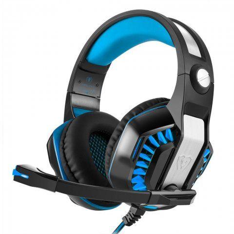 Beexcellent Gm-2 3.5 mm Jeu Gaming casque Headset Earphone Bandeau avec micro LED pour ordinateur portable tablette téléphone