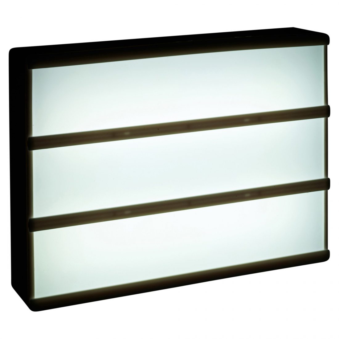 a4 lumi re led boite cin matographique tableau messages. Black Bedroom Furniture Sets. Home Design Ideas