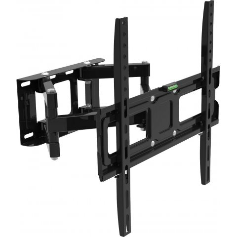 "Inotek MOOV3265.2 Support Mural Orientable/Inclinable de TV pour Ecran Plat 32-65"" Noir"
