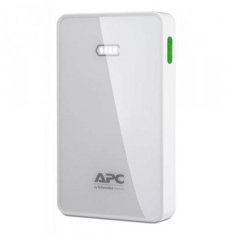 APC Mobile Power Pack - 2 Ports USB pour recharger les Smartphones  et les Tablettes – M5WH-EC - 5,000mAh - Blanc
