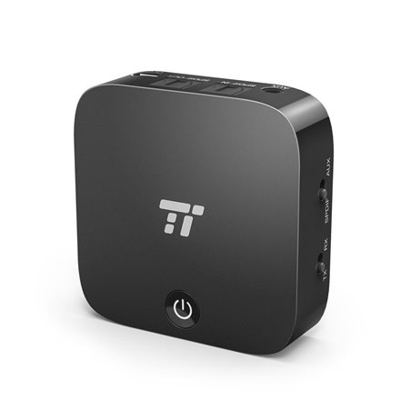 TaoTronics Adaptateur Bluetooth 2-en-1 Transmetteur et Récepteur, Bluetooth 4.1, Émetteur Bluetooth Optique Digital TOSLINK e