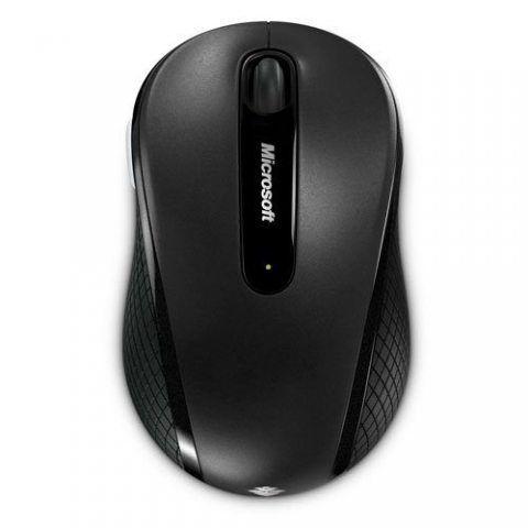 Microsoft Wireless Mobile Mouse 4000 - Souris sans fil Noire