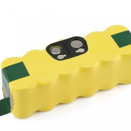BAKTH Batterie de rechange Ni-MH 3000mAh pour Aspirateur iRobot Roomba 500 600 700 800 510 530 532 535 540 545 550 552 560 56