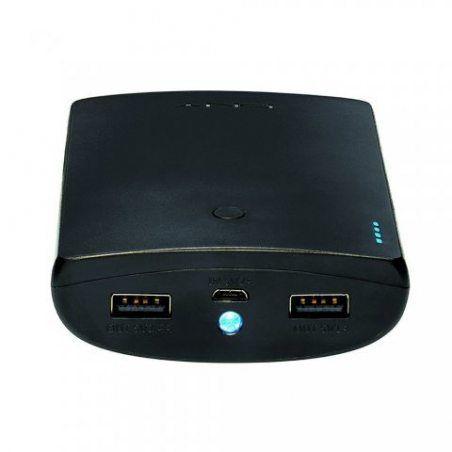 PNY Curve 10400 Batterie externe téléphone portable rechargeable 10400 mAh pour smartphone Noir