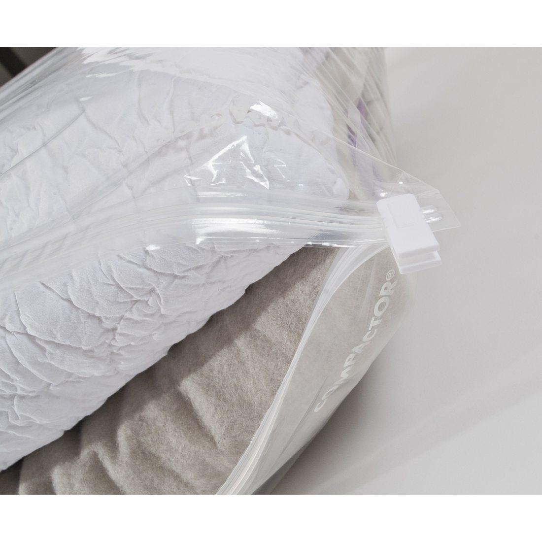 compactor ran4745 housse aspi space nylon poly thyl ne translucide 80 x 1 x 100 cm moyen mod le. Black Bedroom Furniture Sets. Home Design Ideas