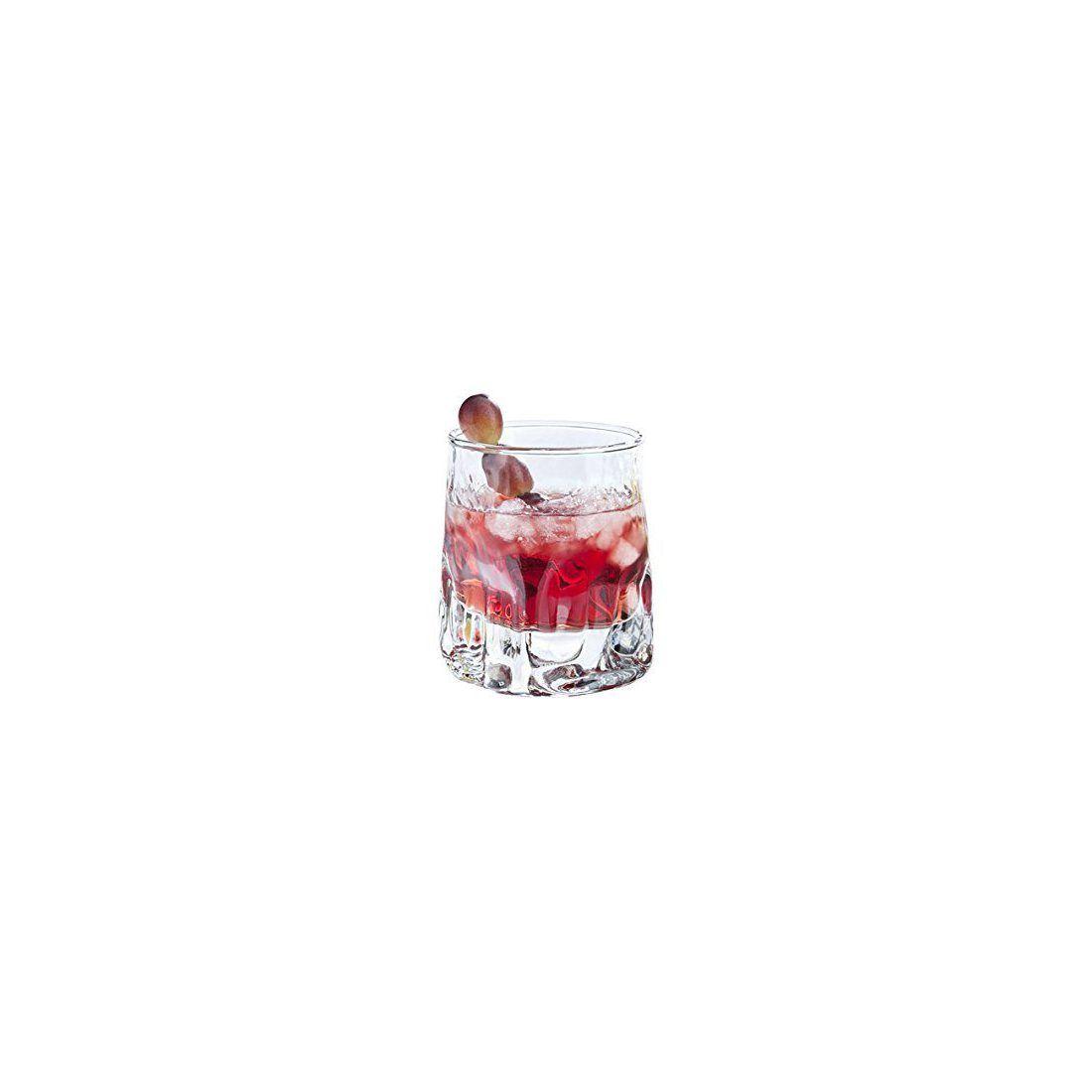Durobor 342/25 Quartz verre à whisky 250ml, 6 verre, sans repère de remplissage
