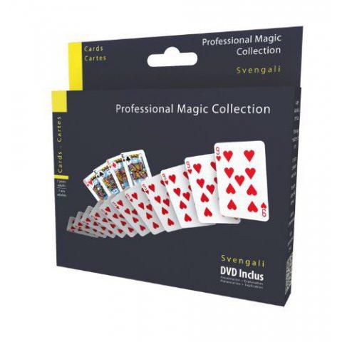 Megagic - 505 - Tour De Magie - Cartes Svengali avec DVD