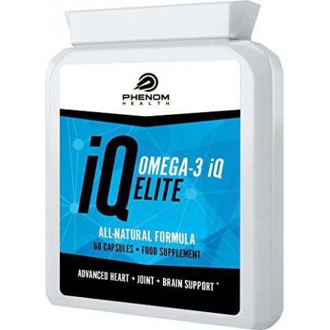 Omega-3 IQ Elite Dietary Supplement - 30 Cps