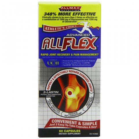 Allmax AllFLEX 60 Cps- Avancée de récupération rapide conjointe
