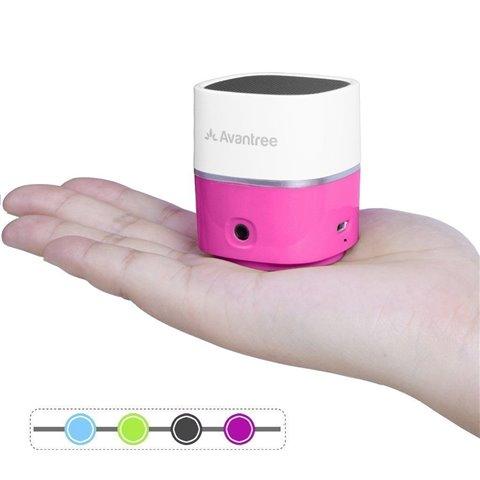 Avantree Mini Enceinte Bluetooth Sans fil ULTRA PORTATIVE | Son Clair Puissant | Assez Forte pour Petite Fête ou Utilisation