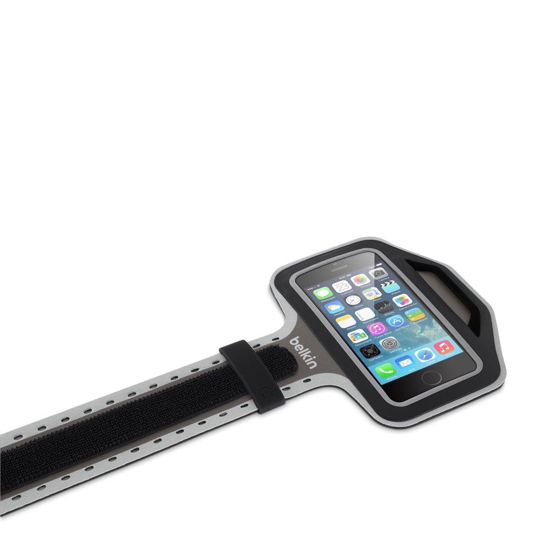 """Belkin - Brassard en Néoprêne """"Slim-Fit+"""" pour iPhone 6/6S - Noir"""