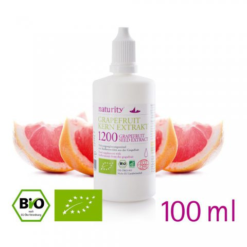 ! OFFRE EXCEPTIONNELLE ! Extrait de Pépins de Pamplemousse Biologique 1200 mg 100 ml