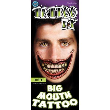 Tatouage provisoire Tinsley Pirate