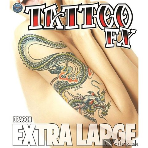 Tatouage provisoire Tinsley Dragon
