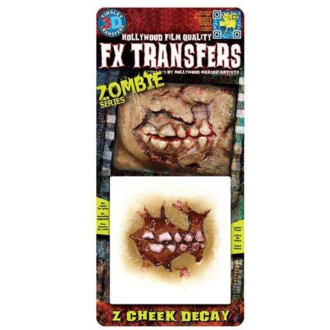 Chaks FXTS-700, Transfert 3D zombie Cheek, Joue décomposée