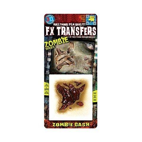 FX Transfers - Zombie Series 3D FX Kit de maquillage Zombie Gash par FX Transfers - Zombie Series
