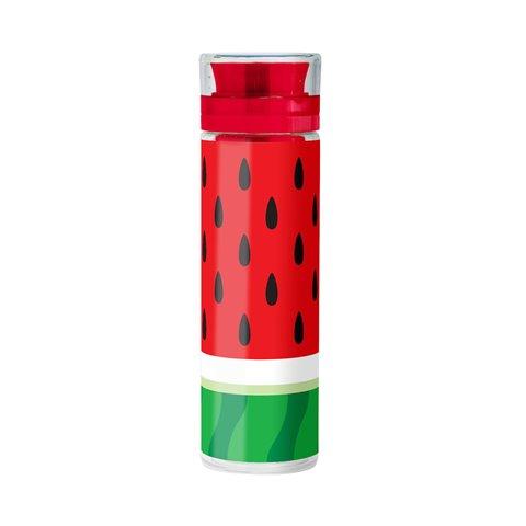 Mustard Bouteille d'Eau avec infuseur à fruits - motif pastèque - Froot Infusing Bottle Watermelon