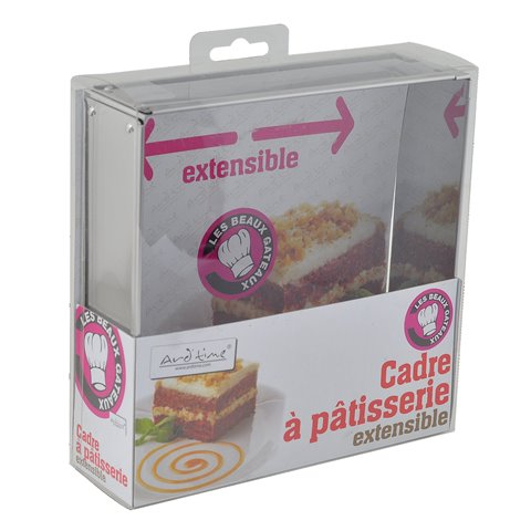 Ard'time BG-CAREXT Carré en Inox Extensible