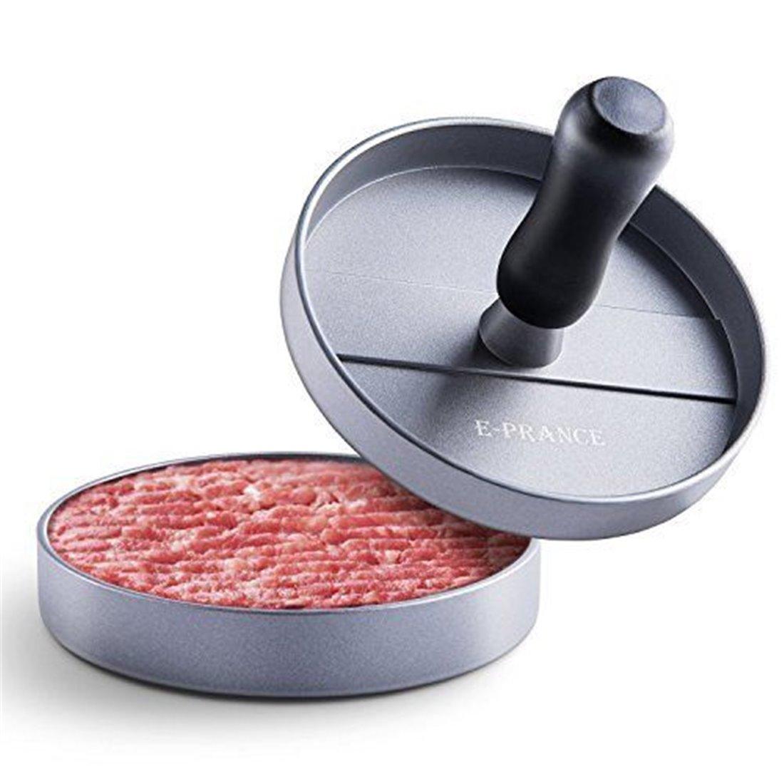E-PRANCE Presse À Burgers Steak Haché Hamburger presse Burger Press Hamburger Maker aluminium avec revêtement anti-adhésif, i