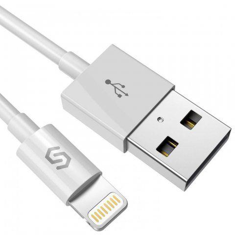Syncwire Câble iPhone - Chargeur iPhone [MFI Certifié Apple] Câble Lightning Charge/Synchro Ultra Rapide vers USB en Aluminiu