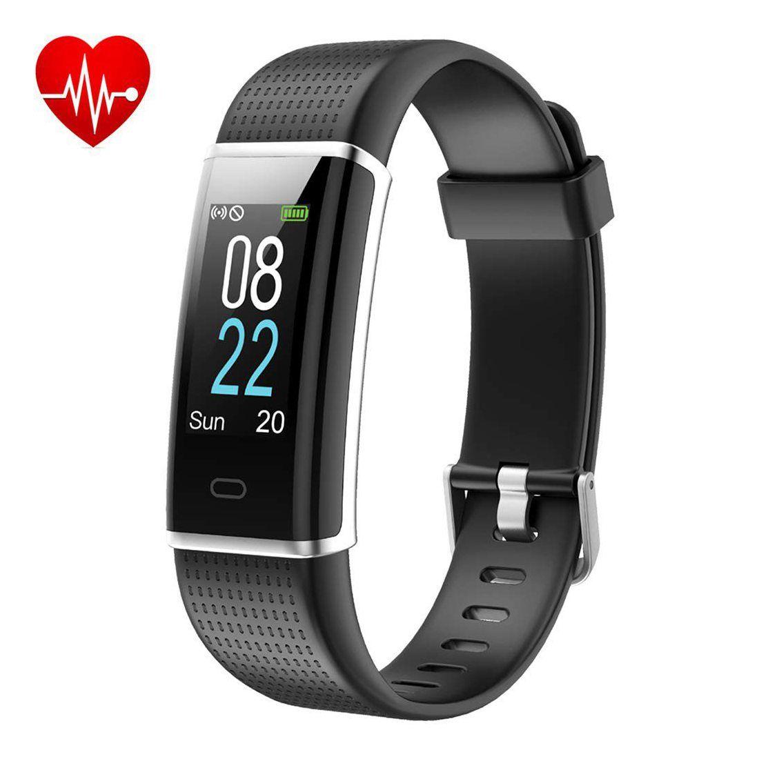 Montre Connectée, Willful Bracelet Connecté Écran Couleur Podometre Fitness Tracker d'Activité avec Cardiofréquencemètre Smar