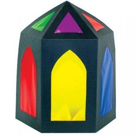 Lot de 36 Feuilles Loisirs Colorées en Cellophane - Idéal pour les loisirs créatifs