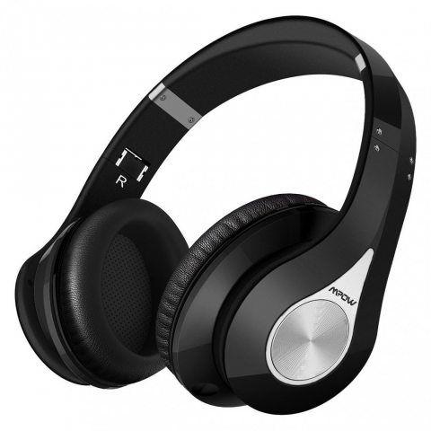 Mpow Casque Bluetooth sans Fil Casque Audio Micro Intégrée Écouteurs Stéréo Oreillette 20 Heures Jeux Continu 250 Heures en V