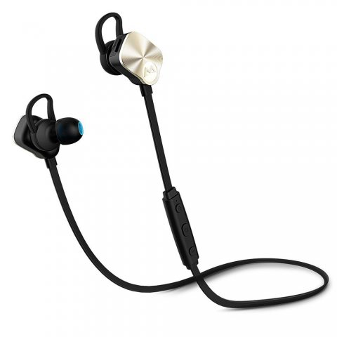 Mpow Écouteur Bluetooth 4.1 sans Fil Oreillettes Sports Écouteurs Intra-Auriculaires avec Microphone Annulation de Bruit / Ma